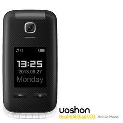 Newest hot selling dual sim old man handphone