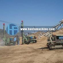 small crawler HF100YA2 for blast hole drilling rig, DTH drilling rig