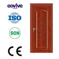 Hot vente moderne porte battante respectueux de l'environnement chambre portes en bois à dubaï