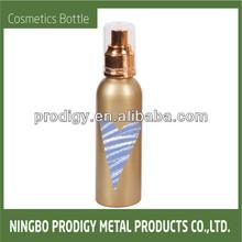 Aluminum refillable cute sprayer bottle