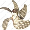 2100mm Five Blade Alloy Metal Marine Boat Propeller