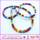 Fashionable and Colourful bead necklace