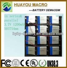 BO-CR60 Charger 3.7v li polymer Battery for Mining Cap Lamp turnigy
