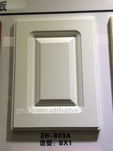 2014 new zhihua brand high gloss vinyl wrap doors kitchen cabinets