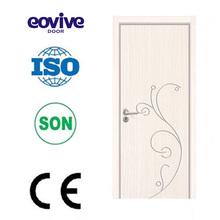 new and fashion design interior wooden melamine door models Des portes en bois