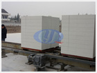 Fly Ash Lightweight Foam Concrete Block Making Plant, CLC Aerated Brick Machine in Shanghai