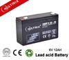 lead acid battery 6v 12AH for UPS used