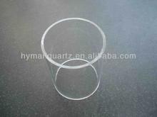 Short length quartz sleeve