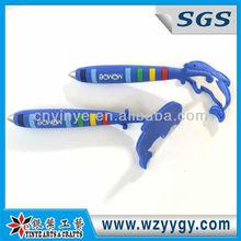 2015 cheap promotional gift New design soft pvc ballpoint pen