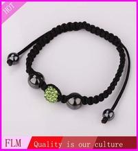 Popular selling unisex semi-precious colored natural garnet stone bracelet FBB005 for gift