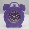 Hot Cheap Colorful Promotional Quartz Mini Silicone Alarm Clock
