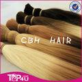 Los productos más vendidos virginal filipino bulto del pelo humano ombre color