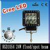 auto 24w led work light ,9-32v. 2070lm, RGD1054,trailer,tractor,4wd ,train, led work lights