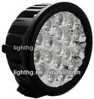 6'' 90w round led driving light , led work light for truck , led fog light for car