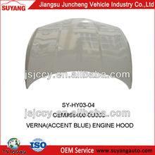 Hyundai Solaris(Russian Version) Hood Car Auto Accessories
