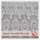 Elgent white curtain african lace swiss lace cotton net lace