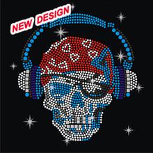 Pop Skull Detailed Custom Transfer Iron on Transfers FY 42 (11)