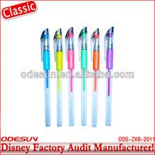 Disney factory audit manufacturer' fluorescent gel pen 148432