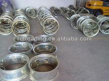 Hot tyre retreading parts/ curing steel rims/rims manufacturer