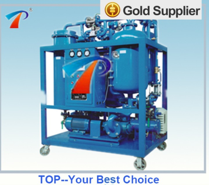 Turbine oil treatment machine effectively extends the lifetime of oil and protect turbine and other machines