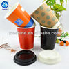 Hot drink cup double wall paper cups for coffee tea and soup