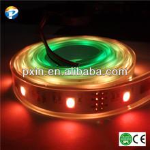 Shenzhen led lamp factory LED-Lichtleiste 14pcs TM1809 IC 5050smd 42leds/m 65w IP67 waterproof dream color flexible led strip