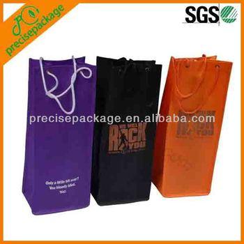 high quality one bottle wine bag (PRB-16009)