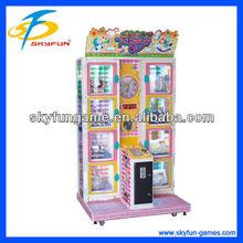 2014 newest Happy Door grabbing toy machine