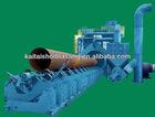 QGW steel pipe internal and external wall type auto shot blasting machine