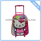 2014 New Style Hello Kitty Kids School Trolley Bag