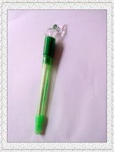 2014 new design elephant shape light ball pen ball pen with light
