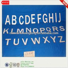 2014 New Design Eco-friendly Unfinished Antique Alphabet Letters
