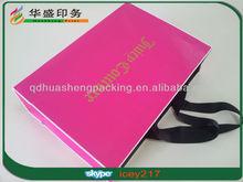 Popular hot selling custom large paper shopping bag