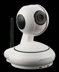 H.264 Video Compression Format,P2P Connection Wireless Pan/Tilt IP Camera