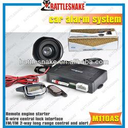 M110AS universal car alarm system high quality
