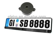 EU European license plate backup reverse parking sensor