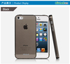 soft tpu case with transparent design for iphone 5/5s
