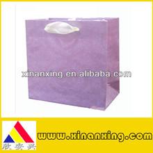 the big purple shopping bag