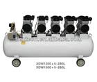 XDW1200/1500W*5-280L oil-free portable air compressor