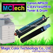 Compatible Canon copier NPG28 toners