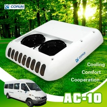 10kw roof top mounted minibus or van air conditioner system with brand spare parts