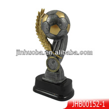 2014 Resin World Cup & football trophy for award