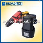 12V 1500mAh Li-ion Battery Pack for Power Tool