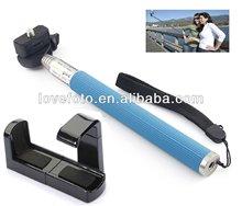 popular handheld monopod L shape clip for mobile phone
