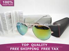 Fashion Brand Rayban Designer Blue Mirrored Sunglasses Polarized Eyewear