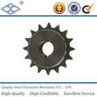 """industrial conveyor hardened chain finished bore sprockets 1""""x17.02 for 16B-1"""
