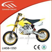 125cc dirt bike for sale cheap pink dirt bike wiht CE use loncin engine LMDB-125D
