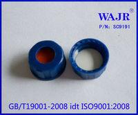 9mm blue cap for 2ml autosampler vials,HPLC vials for analysis instrument