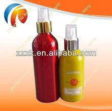 Black Cosmetics Aluminum Bottle With Sprayer wih beautiful color