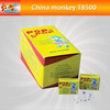 Party yellow girl pop pop snapper color paper for christmas for children safety fireworks for sale(T8500)